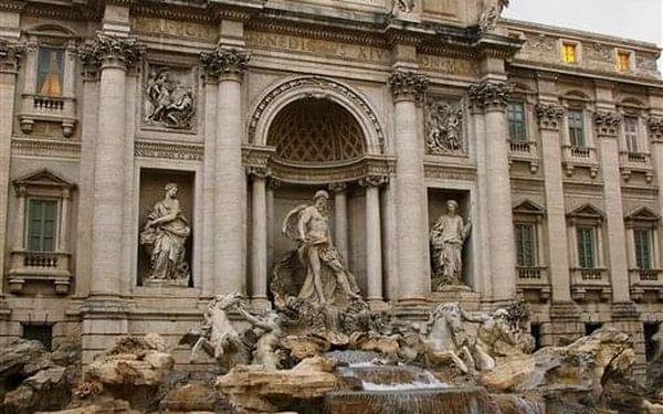 Víkend v Římě 5 dní, Řím, autobusem, snídaně v ceně4