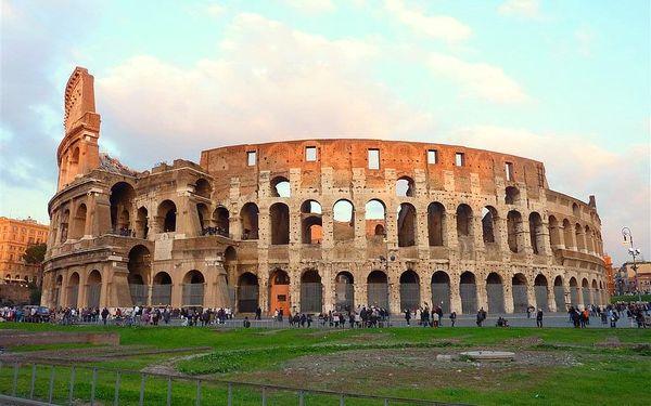 Prodloužený víkend v Římě exclusive, Řím, letecky, snídaně v ceně5