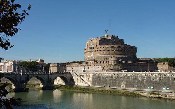Víkend v Římě 5 dní, Řím, autobusem, snídaně v ceně5