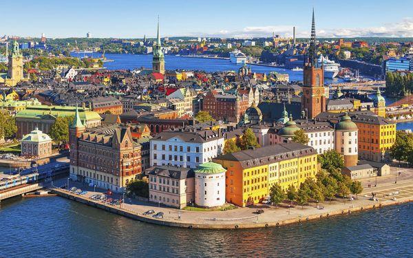 Starobylé metropole Skandinávie, letecky, snídaně v ceně4