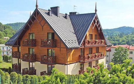 Polsko: Sadecké Beskydy ve 4* hotelu s polopenzí + neomezené wellness a fitness