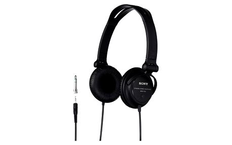 Sluchátka Sony MDRV150.CE7 černá (MDRV150.CE7)