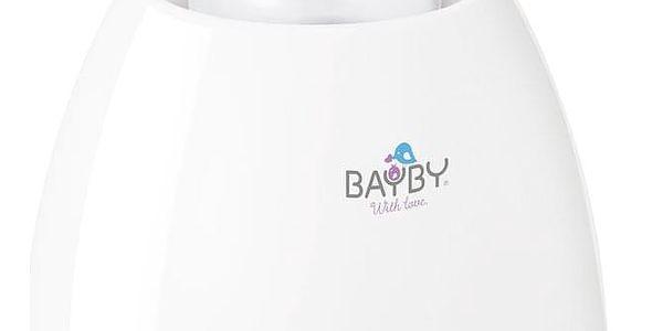Ohřívač kojeneckých lahví BAYBY BBW 2000 3v1 bílý/fialový2