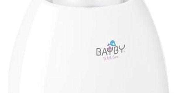 Ohřívač kojeneckých lahví BAYBY BBW 2000 3v1 bílý/fialový