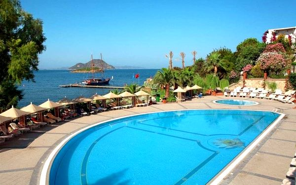 Hotel Kadikale Resort Spa & Wellness, Bodrum, letecky, all inclusive3