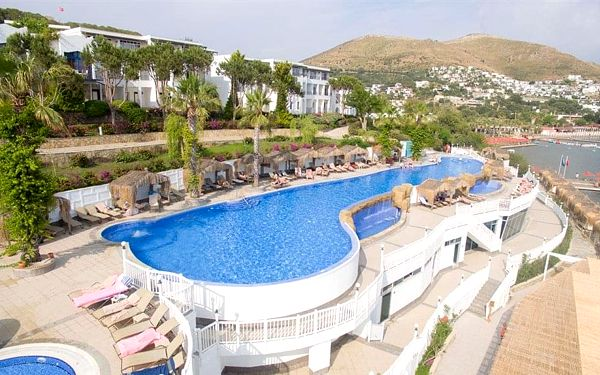 Hotel Kadikale Resort Spa & Wellness, Bodrum, letecky, all inclusive5