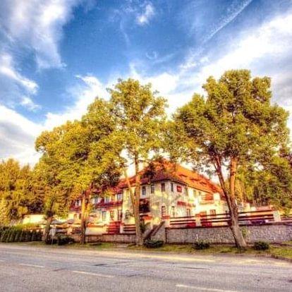 Jižní Čechy: pobyt u přehrady Lipno v Hotelu Kilián *** s polopenzí