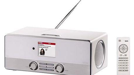 Internetový radiopřijímač Hama DIR3110 DAB+ bílý (54824)