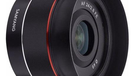 Objektiv Samyang AF 24 mm f/2.8 Sony FE černý