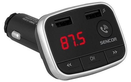 Transmitter Sencor SWM 3500 BT černý/stříbrný