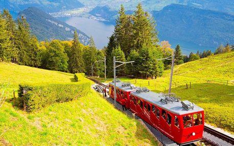 Zájezd na 3 dny do Švýcarska za nejstrmější zubačkou světa