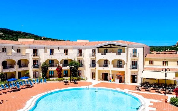 Hotel Blu Resort Morisco & Baja, Sardinie, letecky, all inclusive5