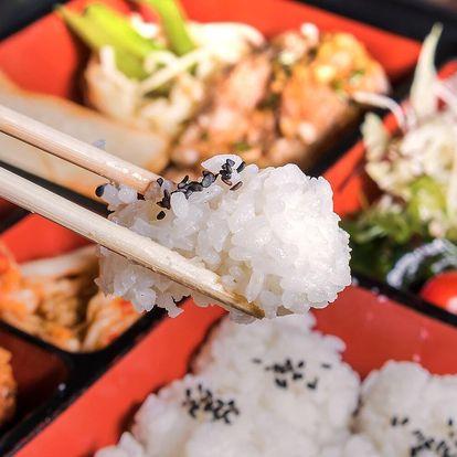 Asijské chutě: malý nebo velký bento sushi box