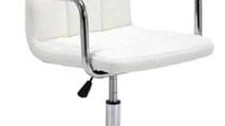 Kancelářské křeslo Q-022 bílé