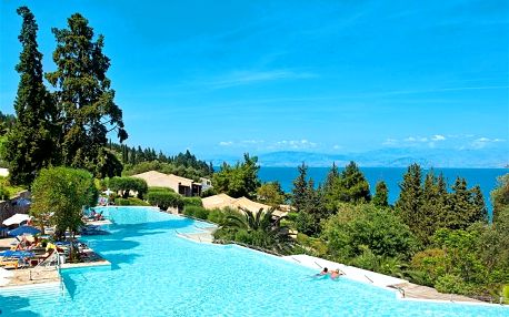 Řecko - Korfu letecky na 8-15 dnů, all inclusive