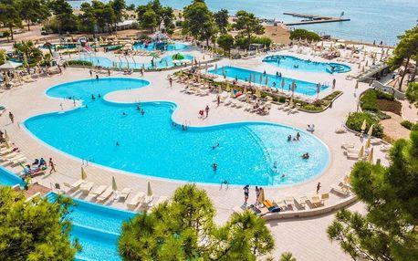 Chorvatsko - Zaton na 10 dní, polopenze s dopravou autobusem