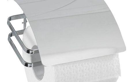 Držák na toaletní papír COVER, Turbo-Loc - nerezová ocel, WENKO