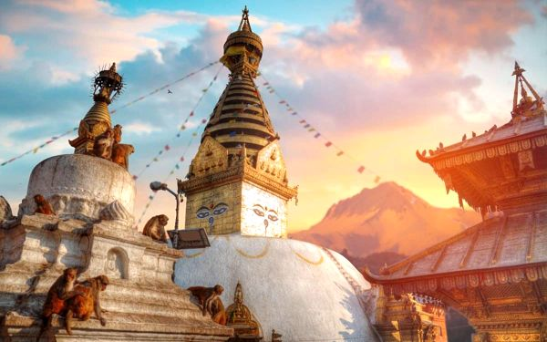 Nepál - země horských velikánů, letecky, snídaně v ceně2