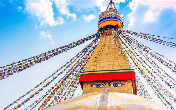 Nepál - země horských velikánů, letecky, snídaně v ceně3
