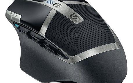 Myš Logitech Gaming G602 Wireless černá (/ laserová / 11 tlačítek / 2500dpi) (910-003822)