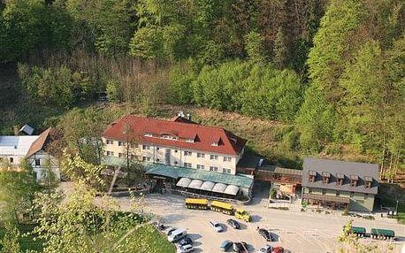 Moravský kras na 2-8 dnů, snídaně v ceně