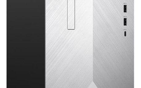Stolní počítač HP Pavilion 595-p0013nc stříbrný (4MG59EA#BCM)