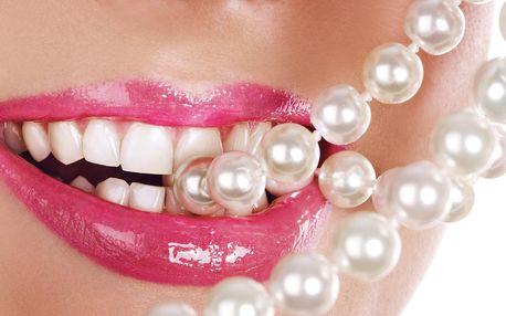 86% sleva na bělení zubů bez peroxidu