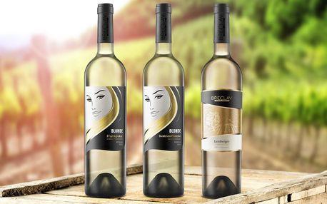 3-6 oceněných klaretů z Rodinného vinařství Břeclav
