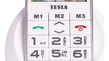 Mobilní telefon Tesla SimplePhone A50 bílý (TAMBPSNA50WH)