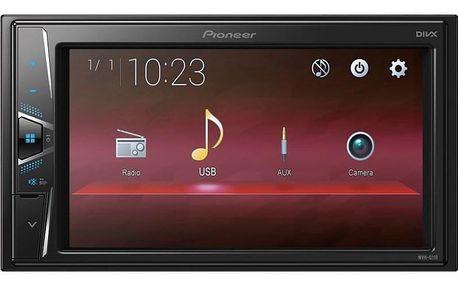 Autorádio s LCD Pioneer MVH-G110 černá + DOPRAVA ZDARMA