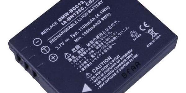 Baterie Avacom Panasonic CGA-S005, Samsung IA-BH125C, Ricoh DB-60, Fujifilm NP-70 Li-ion 3.7V 1100mAh (DIPA-S005N-338)