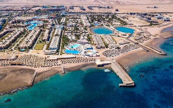 Hotel Aladdin Beach Resort, Hurghada (oblast), letecky, all inclusive4
