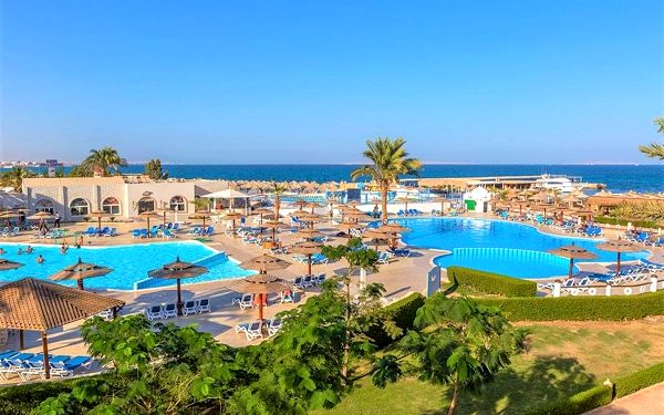 Hotel Aladdin Beach Resort, Hurghada (oblast), letecky, all inclusive