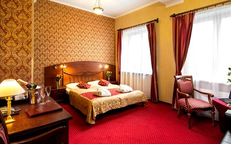 Hotel Galicja *** u slavného solného dolu Wieliczka