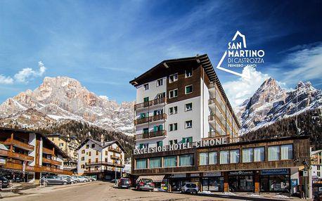 6denní Dolomiti Superski se skipasem | Hotel Cimone Excelsior*** | Doprava, ubytování, polopenze