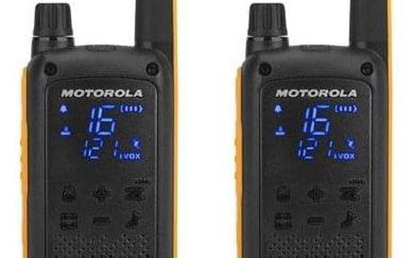 Vysílačky Motorola TLKR T82 Extreme černý/žlutý (D8P00811YDEMAG)