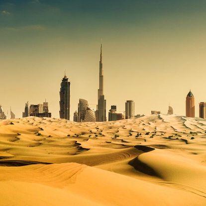 Spojené arabské emiráty - Dubaj letecky na 5-6 dnů, snídaně v ceně