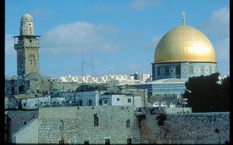 Izrael - Tel Aviv letecky na 7 dnů, polopenze