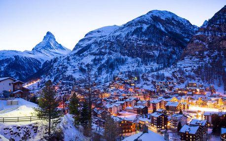 Švýcarsko autobusem na 6 dnů, snídaně v ceně