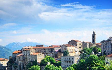 Francie - Korsika letecky na 8 dnů, snídaně v ceně