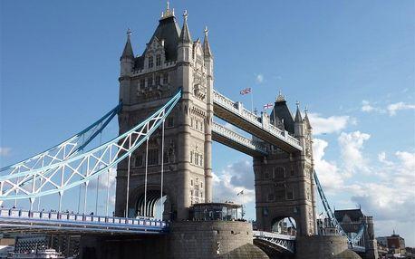 Velká Británie - Londýn letecky na 4 dny, snídaně v ceně