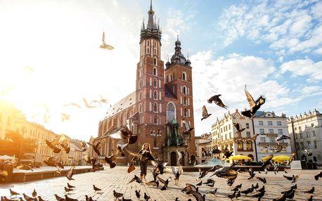 Pobyt pre 2 až 4 osoby v prekrásnom Krakove