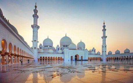 Spojené arabské emiráty letecky na 8 dnů, snídaně v ceně