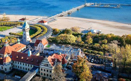 Do Polska k Baltu: polopenze i vstup do aquaparku