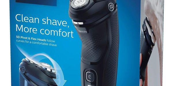 Holicí strojek Philips Series 3000 S3233/52 černý + DOPRAVA ZDARMA5