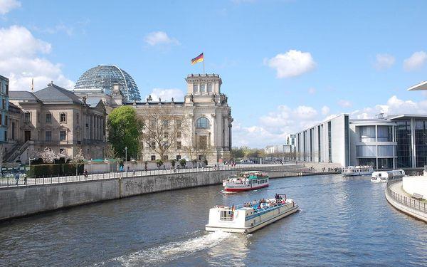 Berlín - víkend vlakem, vlakem, snídaně v ceně2