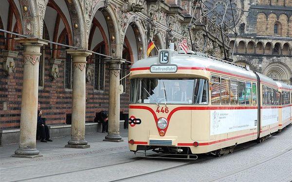 Města a příroda severního Německa, autobusem, snídaně v ceně3