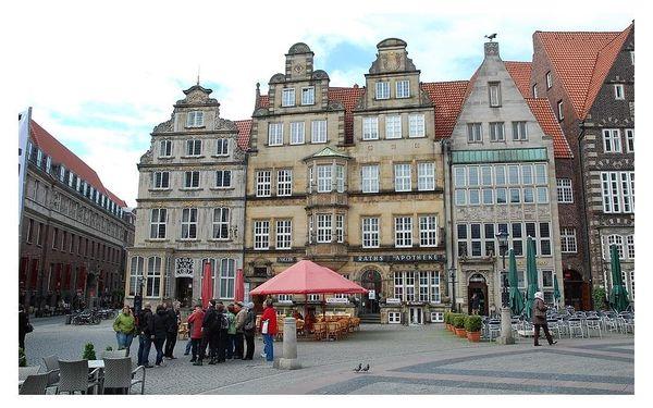 Města a příroda severního Německa, autobusem, snídaně v ceně4
