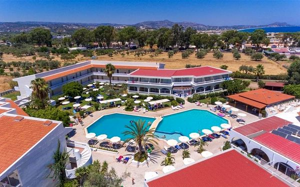 Hotel Niriides Beach, Rhodos, letecky, all inclusive2