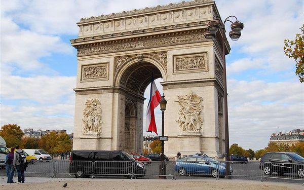 Nenáročný víkend v Paříži, Paříž, autobusem, snídaně v ceně3